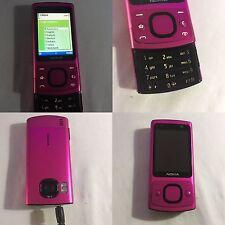 CELLULARE NOKIA 6700 SLIDE PINK GSM 3G SBLOCCATO UNLOCKED SIM FREE DEBLOQUE
