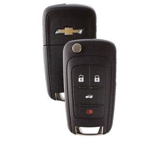 4-Button-Chevrolet-Remote-Flip-Out-Key-Fob-Cruze-Camaro-Malibu-Equinox-Sonic