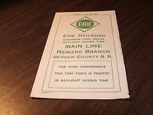 JUNE-1952-ERIE-RAILROAD-FORM-7-MAIN-LINE-NEWARK-BRANCH-BERGEN-COUNTY-RAILROAD