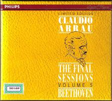 Claudio ARRAU Final Sessions Vol.5 BEETHOVEN Piano Sonata 1 2 16 22 24 25 (2CD)