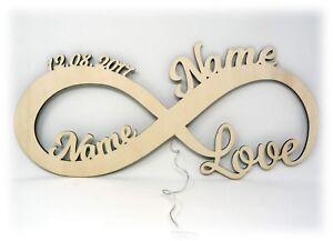 Geschenke Zur Hochzeit Mit Datum Namen Led Deko Lampe