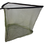 "NGT 50/"" LARGE CARP PIKE FISHING LANDING NET GREEN WITH METAL SPREADER IN BAG"