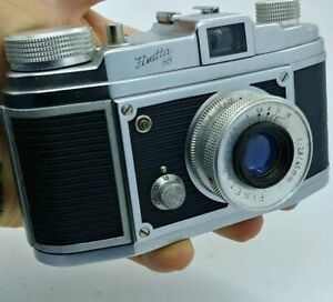Vintage-German-FINETTA-88-Camera-w-case