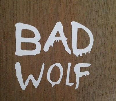 Doctor Who Bad Wolf  Vinyl window car truck sticker decal funny   JDM