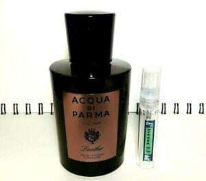 ACQUA-DI-PARMA-COLONIA-LEATHER-5ml-Glass-Decant-Atomizer-SAMPLE