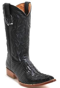 107 Bottes de Cowboy Westernstiefel Texas Bottes Western Rancho Crocodile 40
