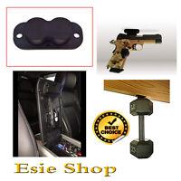 Magnetic Gun Holder 25lbs Holster Strong Under Desk Car Home Safe Pistol Mount