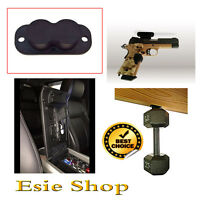 Magnetic Gun Holder 25lbs Holster Strong Under Desk Car Home Safe Pistol Mount