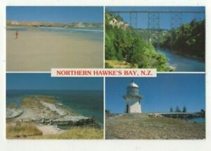 Northern-Hawkes-Bay-New-Zealand-6x-4-inch-Multiview-Postcard-US144