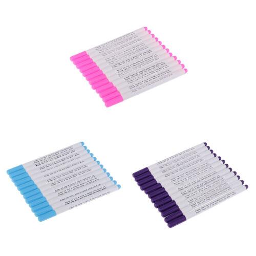 12 Stück Luft Löschbare Wasserlösliche Stift Für Gewebe Markierung