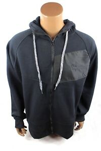 1a83e6ad8 Beverly Hills Polo Club Mens Full Zip Black Hoodie Sweatshirt - Sz L ...