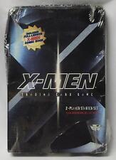 X-Men 2000 Trading Card Game 2 Player Starter Set Sealed - Plastic Torn