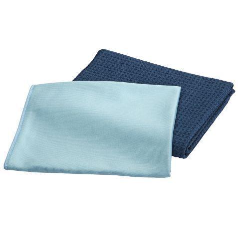 Premium microfibre vitres de nettoyage set sans chimie streifenfrei nettoyer *