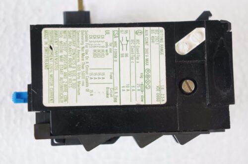 Motorschütz Überlastrelais aus alter funktionierender Anlage S-704