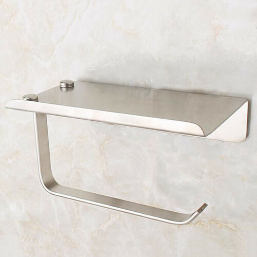 Wall Mounted Suction Shelf Kitchen Jar Bottle Container Toilet Tissue Roll