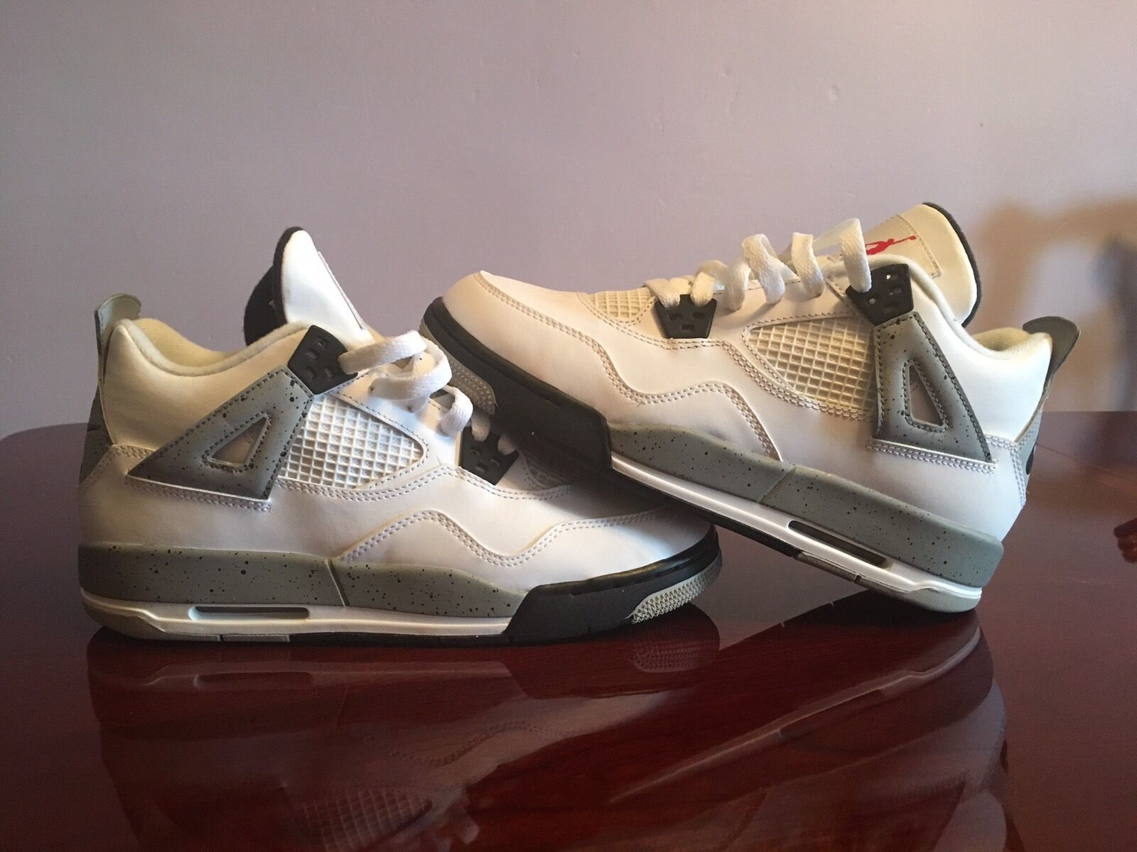 Jordan Retro 4 Cemento blancoo Air