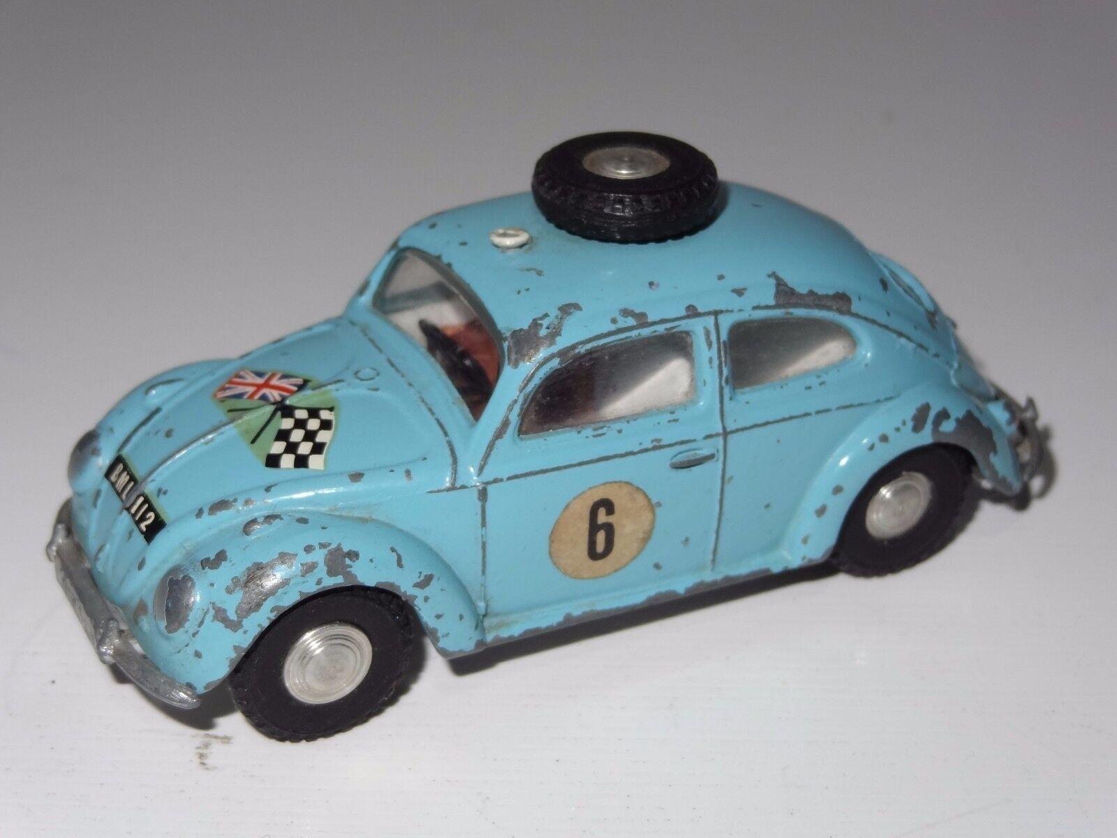 Triang spot on VW VW VW VOLKSWAGEN BEETLE RALLYE CAR - 195 e74336