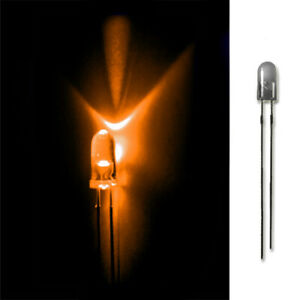 LED-3mm-ORANGE-20-50-100-500-LEUCHTDIODEN-SUPERHELL-RUNDKOPF-AUSWAHL