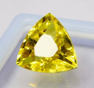 Natural-CERTIFIED-Trillion-Cut-11-Ct-Ceylon-Yellow-Sapphire-Loose-Gemstone