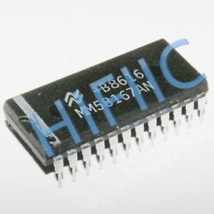 1PCS MM58167AN Microprocessor Real Time Clock DIP24