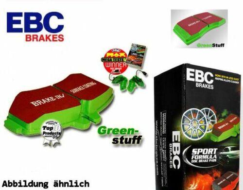 EBC Greenstuff Bremsbeläge Vorderachse DP2937