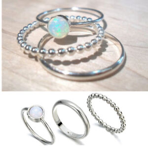 3Pcs-Sparkling-925-Silver-Fire-Opal-Gemstone-Ring-Set-Wedding-Gifts-Jewelry-7-10