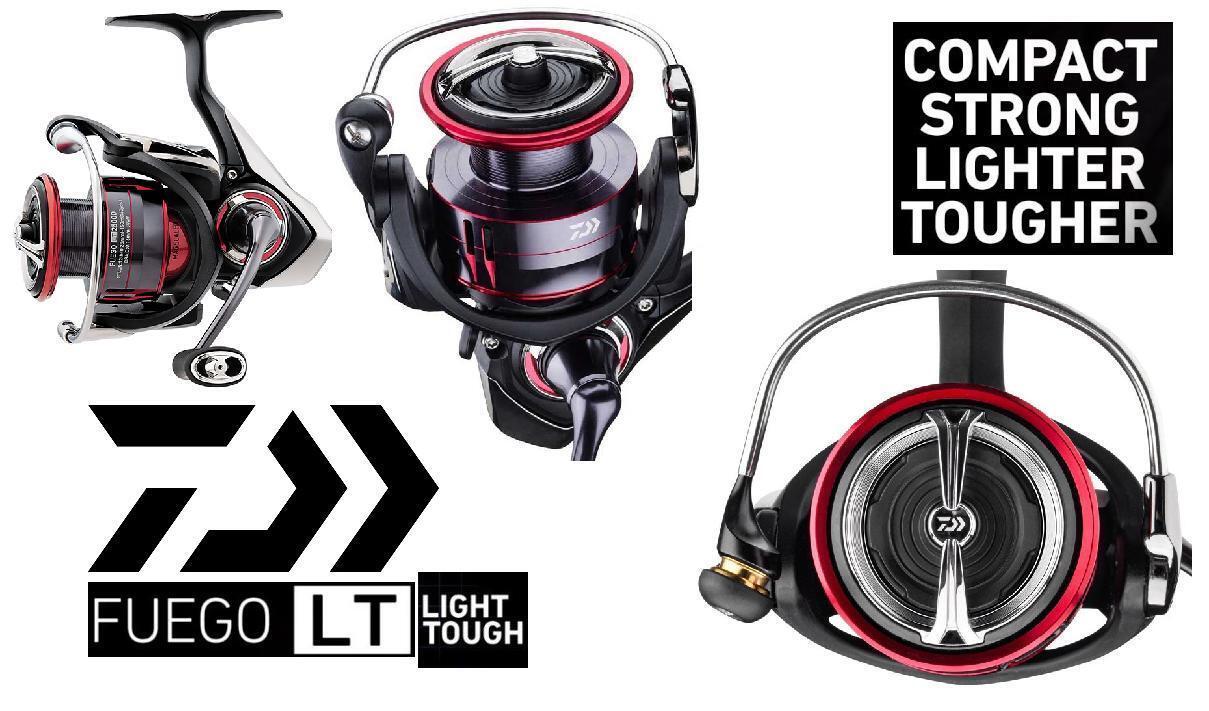 Daiwa Fuego Luz 4000D-C Spinning Carretes