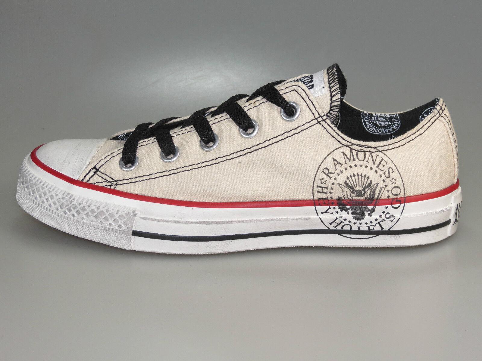 Venta de liquidación de temporada Converse Ramones banda Chuck 113973 Parchment Ox Limited + nuevo + dif. tamaños