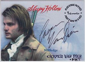 Sleepy Hollow Auto >> Details About 1999 Inkworks Sleepy Hollow Auto Casper Van Dien A4 Starship Troopers Tarzan
