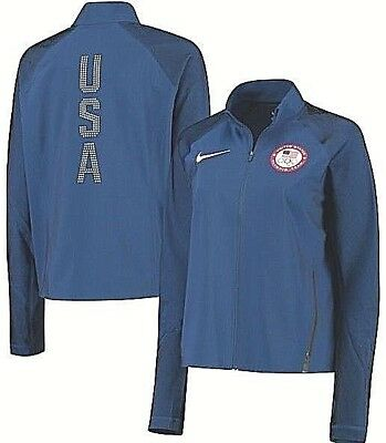 Sports Mem, Cards & Fan Shop Olympics Woman's Nike Flex 2016 Usa Olympic Team Running Jacket Xl $250 Nwt 807373 Durable Service
