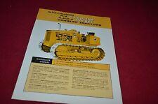 Fiat Allis Chalmers H-4 HD-4 Crawler Tractor Dealers Brochure DCPA6 Ver5