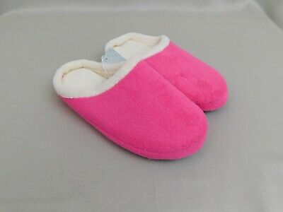Plush Scuff Slippers - Pink