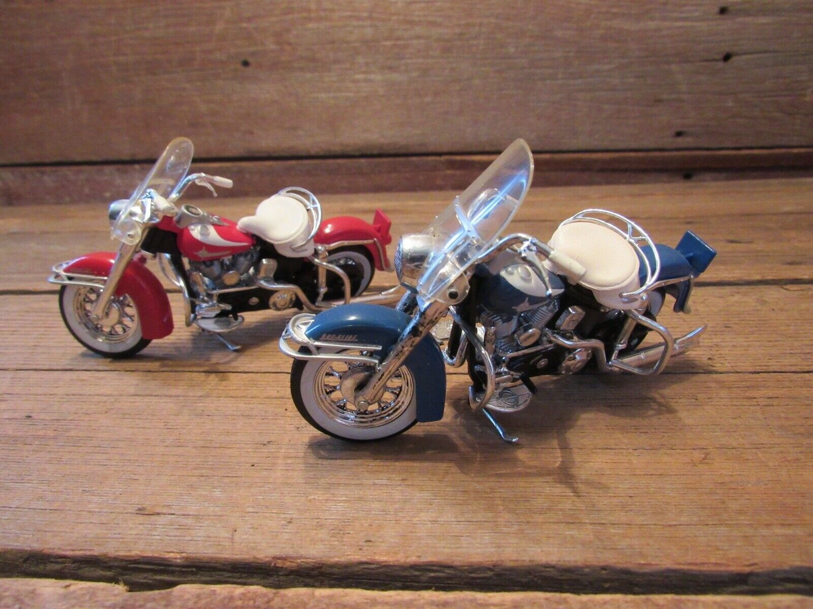 Vintage LOT Harley Davidson H-D Motorcycles By MAISTO