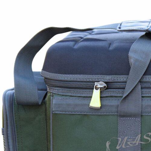 Delta Fishing Luxus XXL CarryaLL Angel Tasche 4+4 Taschen Deckel Bivvy Table Sha
