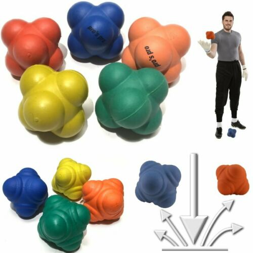 Gummi Reaktionsbälle: steigern Reaktionsvermögen Hand/Augen-Koordination Motorik