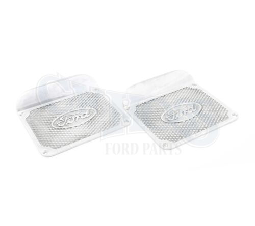 FORD MODEL A RUNNING BOARD STEP PLATES ONE PIECE ALUMINUM PAIR