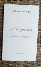 J P RANSONNET CONVERSATION avec DAN VAN SEVEREN ED TANDEM  1991