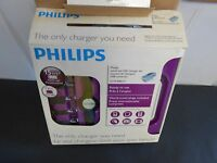 Philips Universal Usb Charger Kit. World Travel Plugs Included. Nd302