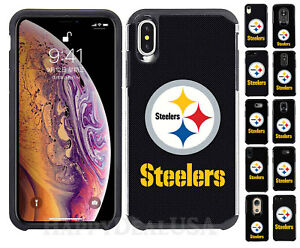 the best attitude 2a217 75486 Details about Official NFL ShockProof Hybrid Cover Case for Cell Phone -  Pittsburgh Steelers