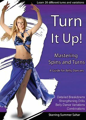 Turn It Up with Summer Sahar - Guide to Mastering Spins and Turns Belly Dance884