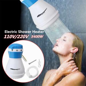Calentador de ducha eléctrico de 5400 W 220 V calentador de agua instantáneo