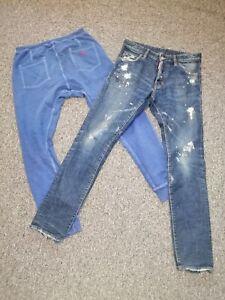 Set of 2 dsquared item jeans + jogging size 46/S