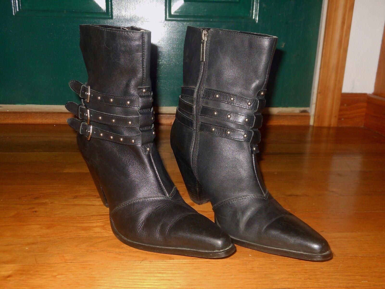 Harley-Davidson Women's Bette 3 Strap Boots - Sz 10 M - D84504 - Excellent cond