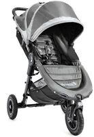 Baby Jogger City Mini GT Steel/Gray Standard Single Seat Stroller Strollers