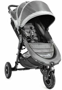 Baby Jogger City Mini GT Steel/Gray Standard Single Seat Stroller