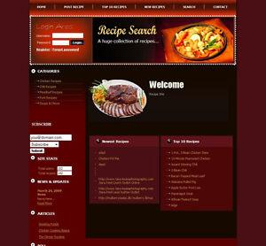 ORGANIC-FOOD-RECIPES-Website-Business-Online-Earnings-Google-Adsense