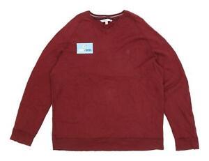 Fat Face Herren Größe XL Baumwollmischung rot Sweatshirt
