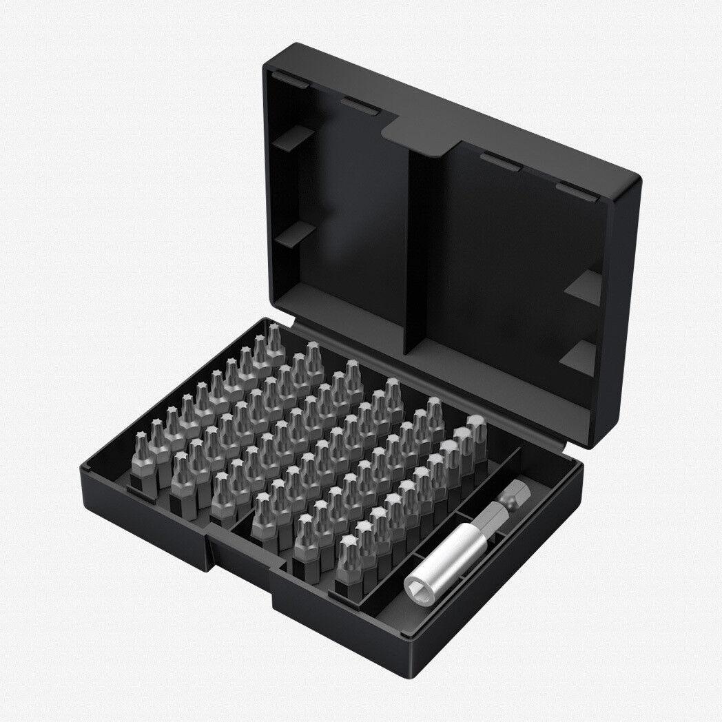 Wera 05057909001 Bit-Safe Classic 9 - Torx 61 Piece Bit Set