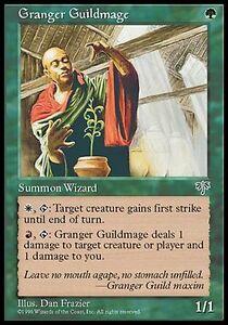 4x-Magician-of-Guild-of-Flora-Granger-Guildmage-MTG-MAGIC-Mi-Mirage-Eng
