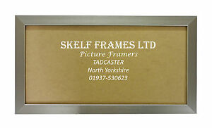 SKELF-FRAMES-PEWTER-PANORAMIC-PICTURE-PHOTO-POSTER-FRAME-with-GLASS